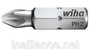 Биты PH2 х 25 мм стандартные профессиональные Wiha 01658