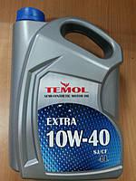 Масло моторное полусинтетическое TEMOL EXTRA 10W-40 4л. - производства Украины, фото 1