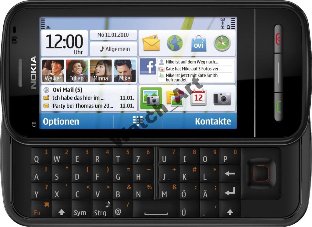 Nokia C6-00 2 цвета. Русская клавиатура Оригинал!