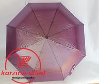 Женские зонт однотонный полуавтомат