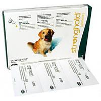 Капли от блох и клещей для собак 20-40кг Стронгхолд. Pfizer  (3 пипетки)