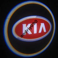 Дверной логотип LED LOGO 100 KIA подсветка дверей