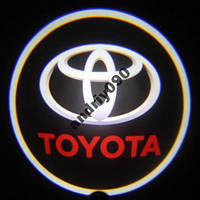 Дверной логотип LED LOGO TOYOTA подсветка дверей