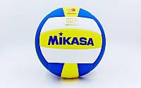 Мяч волейбольный клееный Mikasa MV-1000 оригинал