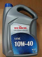 Масло моторное полусинтетическое TEMOL LUXE 10W-40 5л. - производства Украины, фото 1