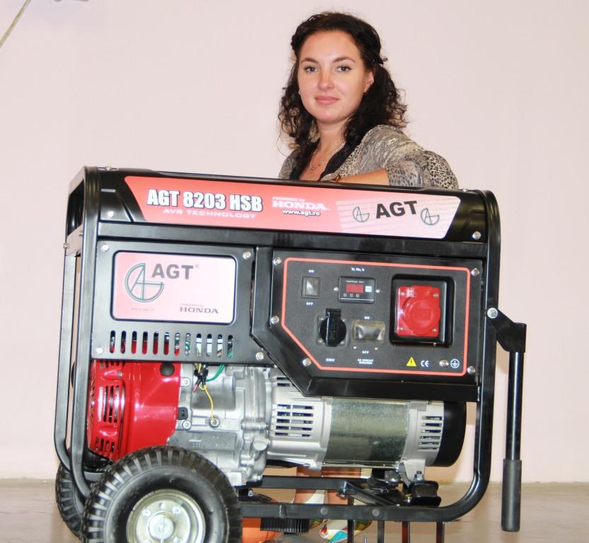 Бензиновый генератор AGT 12501 HSBE R16 (PFAGT12501H16/E )