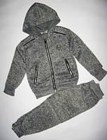 Вязаный спортивный костюм для мальчика р.98-152 (8250тсер)