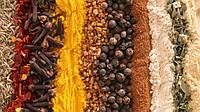 Ориентировочный обзор запахов и вкусов наиболее известных пряностей