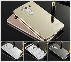 Чехол бампер для LG G3s / G3 Mini D724 зеркальный