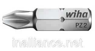 Биты PZ2 х 25 мм стандартные профессиональные Wiha 01689
