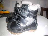 Новые Ботиночки детские зимние,размер 21