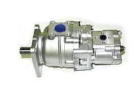 Насос шестиренчатый сдвоенный (спаренный) НШ-32-10