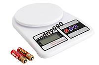 Электронные Кухонные Весы 7 кг SF- 400 +Батарейки