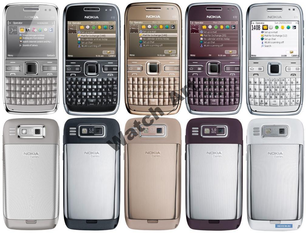 Nokia E72 4 цвета Оригинал! Качество! Русс.клав.