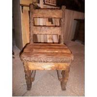Деревянный стул под старину ручной работы по низким ценам