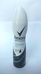 Дезодорант спрей Rexona невидимая защита для женщин Invisible Aqua
