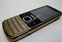 Телефон Nokia 6700, 2 sim (copy), металлический корпус gold