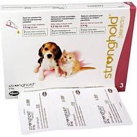 Каплт от блох и клещей Стронгхолд для щенков и котят 2.5кг. Pfizer