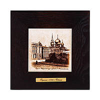 """Картина Одесса 1794 """"Окружной суд и церковь"""" (18x18) см"""