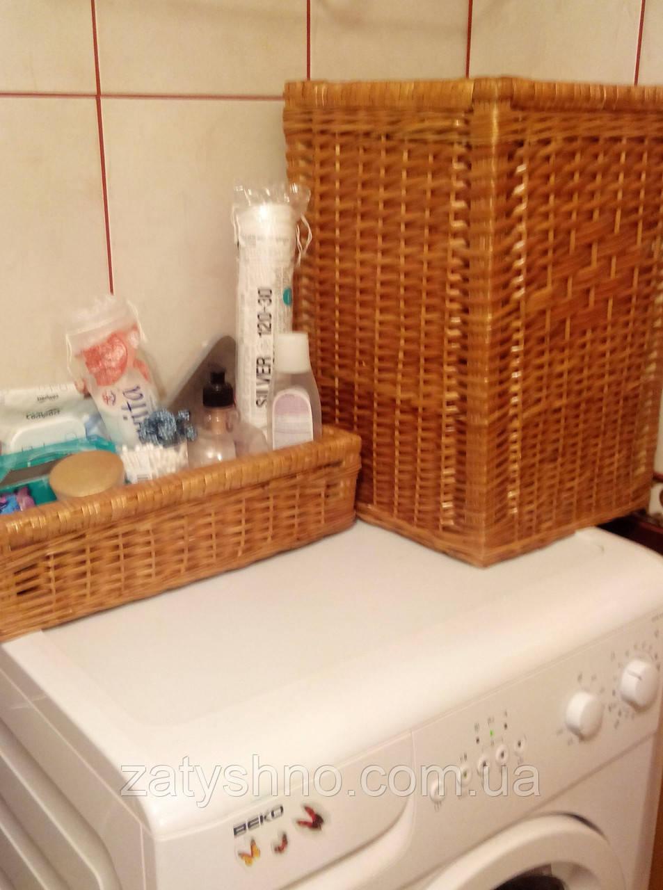 Ящик для белья в ванную