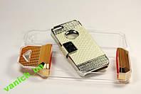 Пластиковый чехол для iphone 5 с камнями