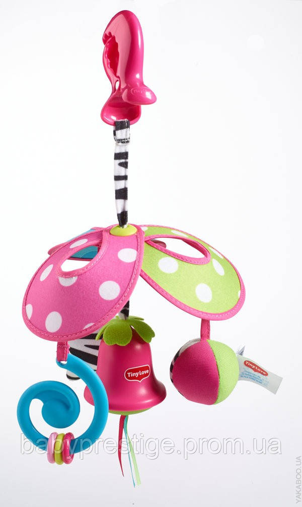 Подвесная игрушка Tiny Love Pack & Go, Принцесса