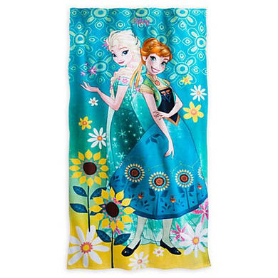 Полотенце ДИСНЕЙ АННА и ЭЛЬЗА ХОЛОДНОЕ СЕРДЦЕ / FROZEN FEVER Towel Disney