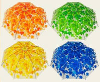 Зонт детский Осень прозрачная клеенка