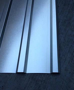 Профнастил оцинкованный ПК-12 0,25мм 1,75м Х 0,93м, фото 2