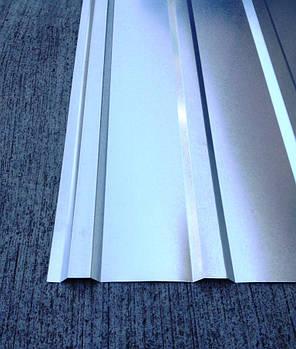 Профнастил оцинкованный ПК-12 0,30мм 2 м Х 0,93м, фото 2