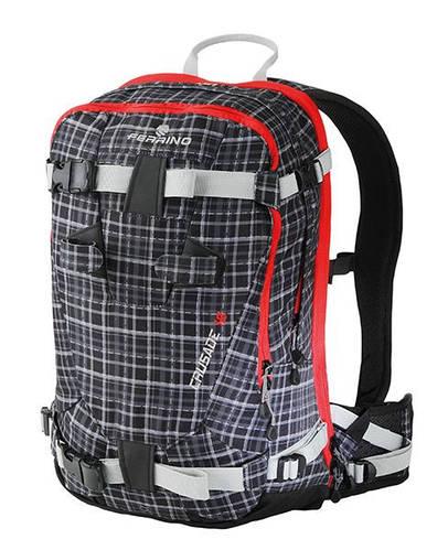 Технологичный молодежный рюкзак Ferrino Crusade 18L Tartan Black 922855 (черный/серый)