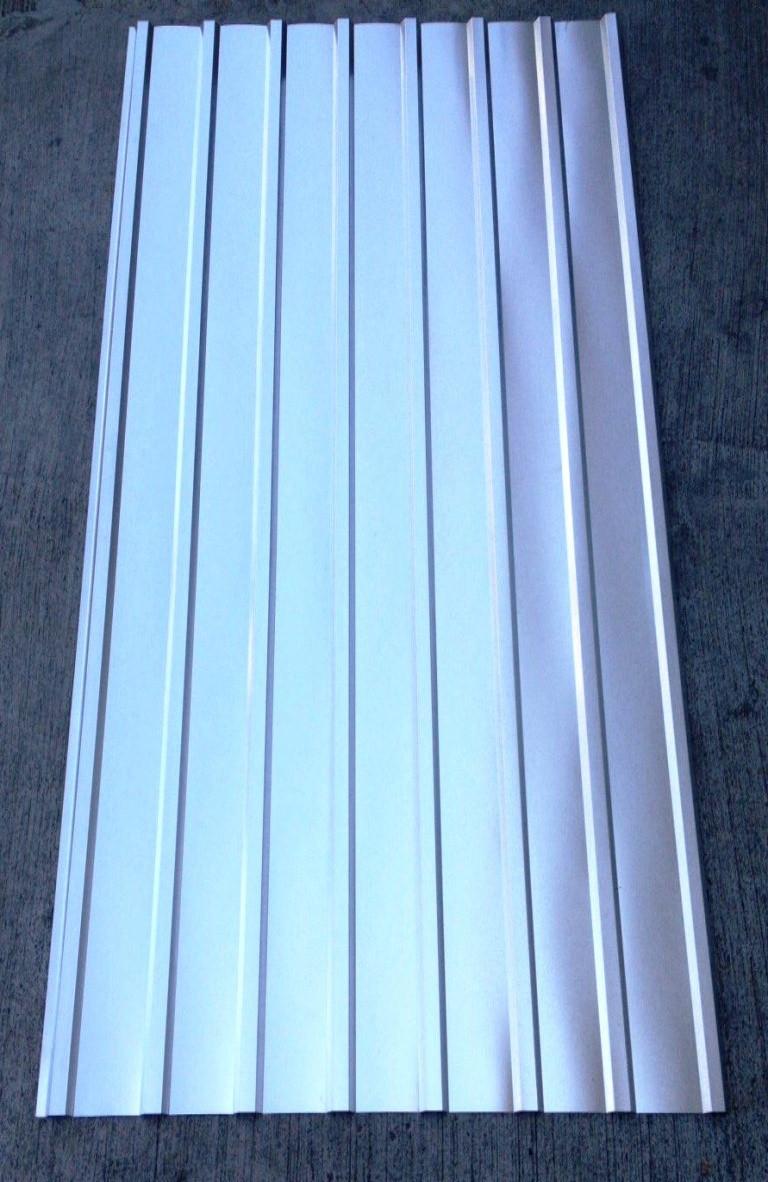 Профнастил оцинкованный ПК-12 0,30мм 2 м Х 0,93м