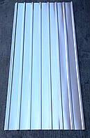 Профнастил оцинкованный ПК-12 0,35 мм 2 м Х 0,93м