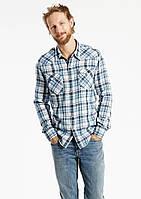 Рубашка Levi's  Barstow Western Shirt Gerle Blue Plaid
