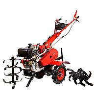 Мотоблок WEIMA WM610АЕ (дизель 9 л.с., электростартер, колеса 4.00-8) Бесплатная доставка, фото 1
