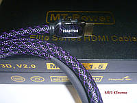 MT-Power HDMI 2.0 Elite 0,8 м кабель для передачи аудио-видео и 4К изображения, фото 1