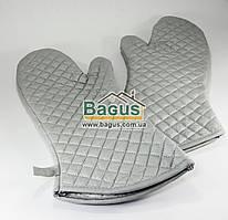 Набор рукавиц (2 шт.) для духовки или мангала с удлиненным запястьем Empire (EM-3901)