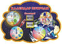 """Стенд """"Календарь природы"""""""