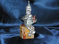 Прикольные подарки - свеча робот  Бэндер