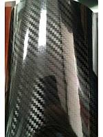 Пленка карбон 5D черная под лаком