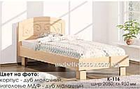 Кровать К-116 с ламелями без матраса (Комфорт)