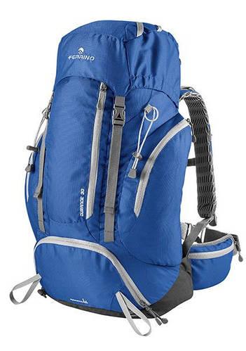 Походный вместительный рюкзак для туриста Ferrino Durance 40 Blue 922882 синий