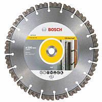 Алмазный диск Bosch Best for Universal 300-20