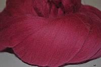 Шерсть для валяния австралийский меринос фуксия ( шерсть для сухого валяния, мокрого валяния)