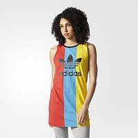 Женская майка-платье adidas originals Trefoil AY9455