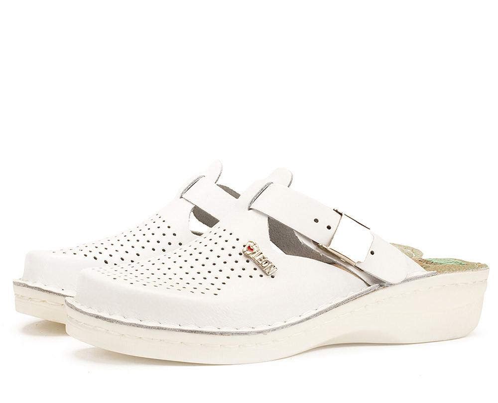 Сабо Leon V260  Белые