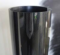 Пленка карбон 6D черная под лаком