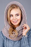 Теплый, мягкий и уютный шарф-хомут