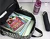 Черно-белый рюкзак из холста, фото 2
