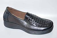Туфли женские (36-41) Baolikang А-27 черные